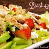 Beach Salad with Lemon Poppy Seed Dressing