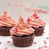The Ultimate Chocolate Cupcake with Fresh Strawberry Buttercream Frosting