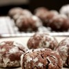 Flourless Dark Chocolate Cookie Bites {Gluten Free}