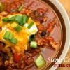 Slow Cooker Turkey Chilli