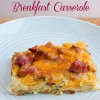 Overnight Ham and Egg Breakfast Casserole