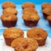 Brown Sugar Streusel Rhubarb Muffins