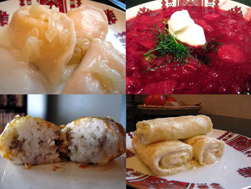 christmas eve ukrainian dinner