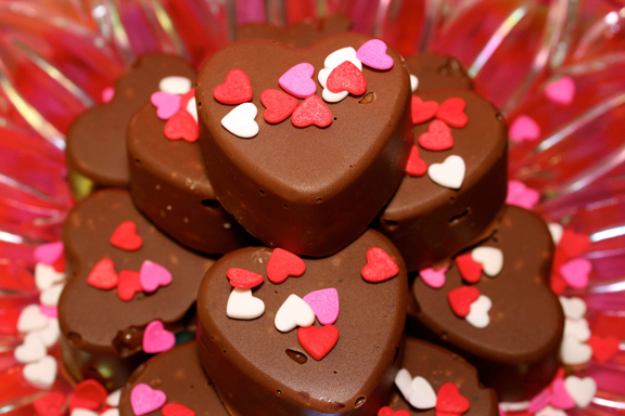 Image result for chocolate hearts