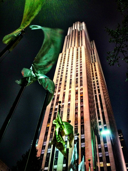30 Rockefeller Centre © 2012 Claudia's Cookbook. All Rights Reserved.