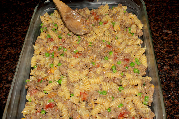 Claudia's Cookbook - Hearty Casserole 12