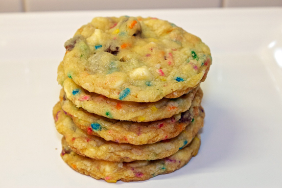 Claudia's Cookbook - Cake Batter Cookies 11
