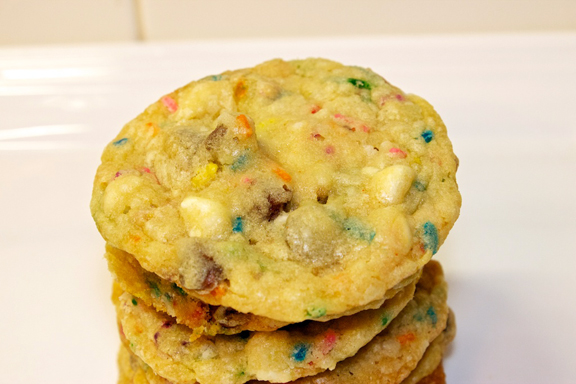 Claudia's Cookbook - Cake Batter Cookies 9