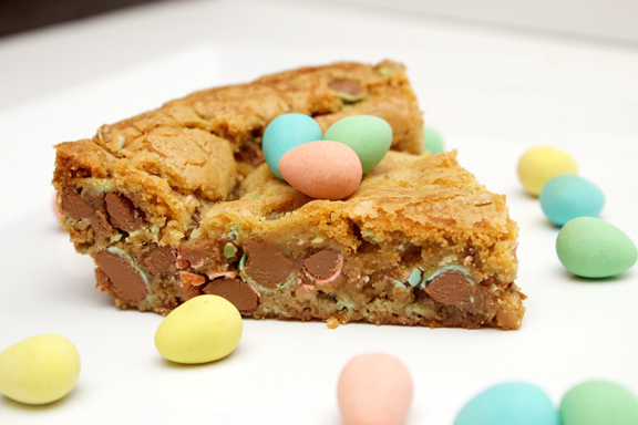 Claudia's Cookbook - Cadbury Mini Egg Skillet Cookie 18