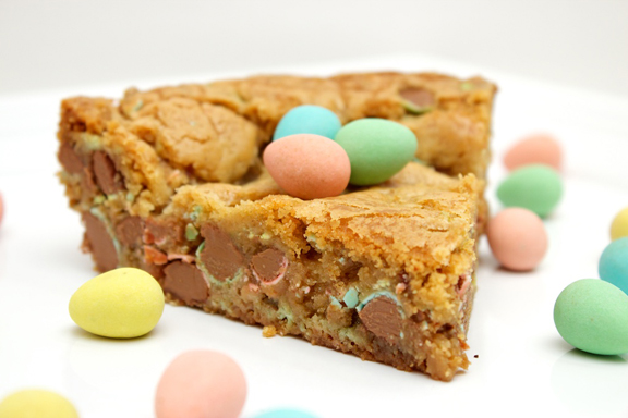 Claudia's Cookbook - Cadbury Mini Egg Skillet Cookie 19