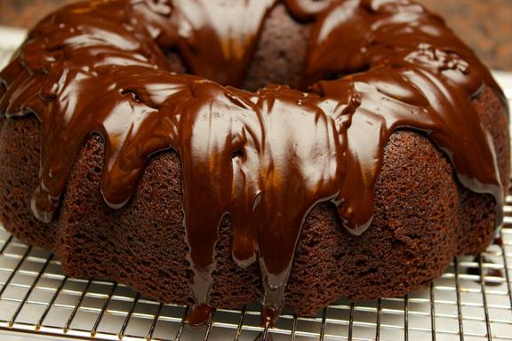 Claudia's Cookbook - Double Chocolate Stout Cake 12