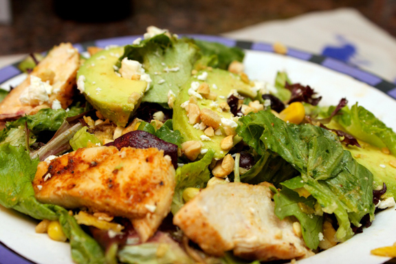 Claudia's Cookbook - Santa Fe Chicken Salad 14