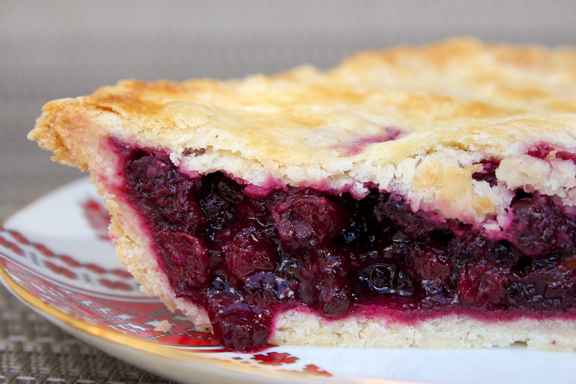 Claudia's Cookbook - Saskatoon Pie 21