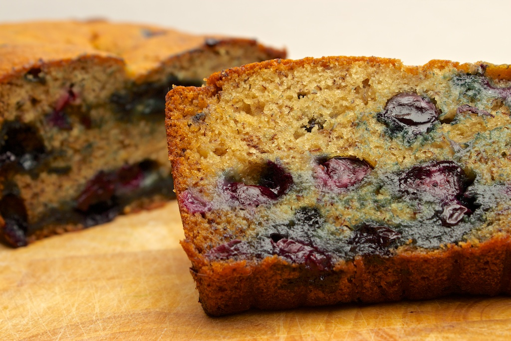 Claudia's Cookbook - Blueberry Banana Bread