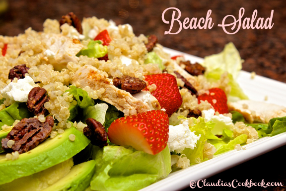 Claudia's Cookbook - Beach Salad cover