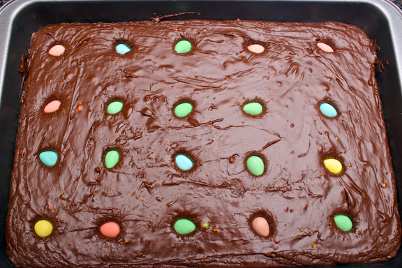 Claudia's Cookbook - Cadbury Mini Egg Fudge 11
