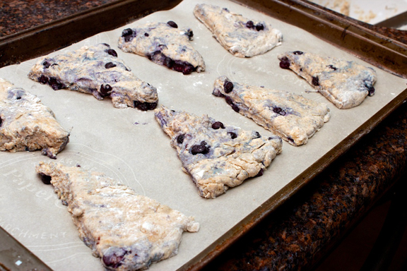 Claudia's Cookbook - Honey Drizzled Baked Blueberry Bannock 6