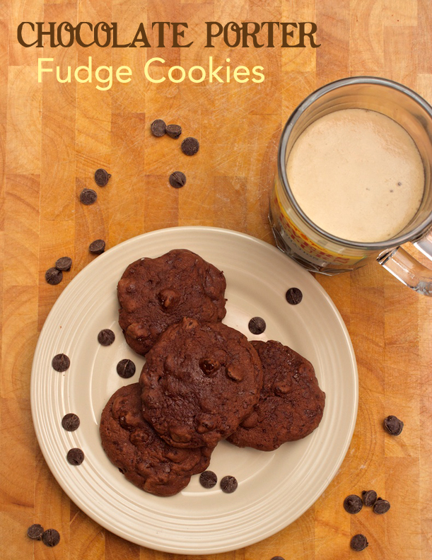 Claudia's Cookbook - Chocolate Porter Fudge Cookies cover