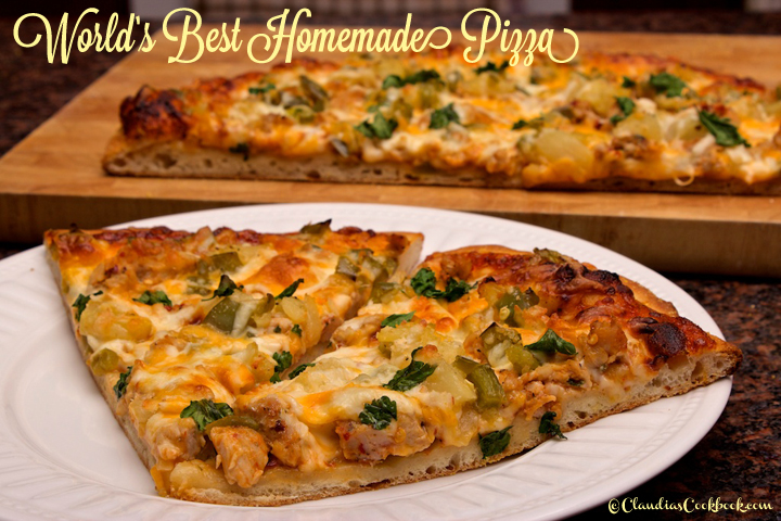 Claudia's Cookbook - The Best Homemade Pizza in the World 31