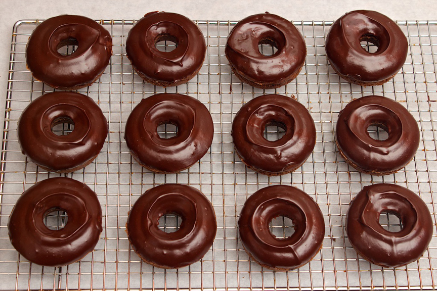 Claudia's Cookbook - Salted Caramel Mocha Donuts 13