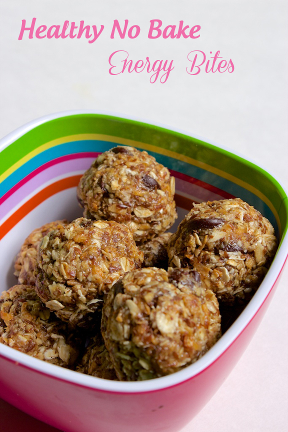 Claudia's Cookbook - No Bake Energy Bites cover