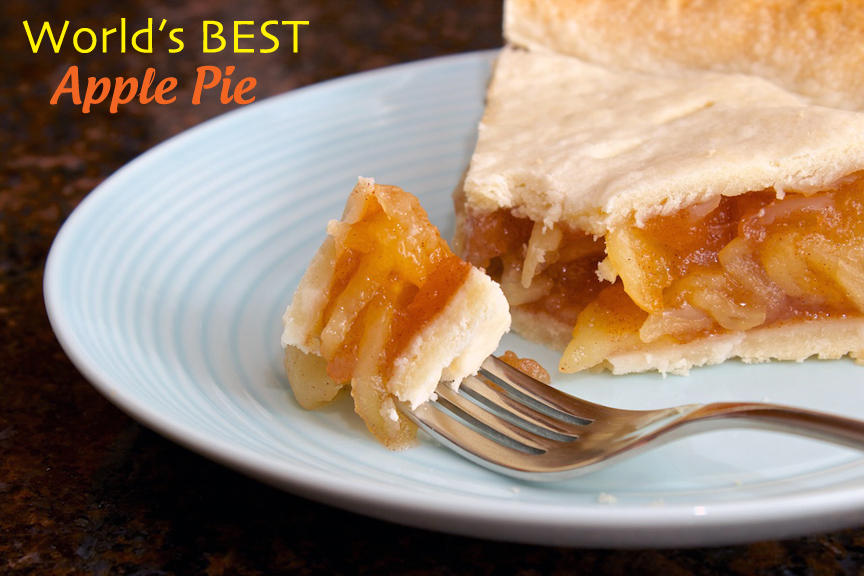 Claudia's Cookbook - The Best Apple Pie cover