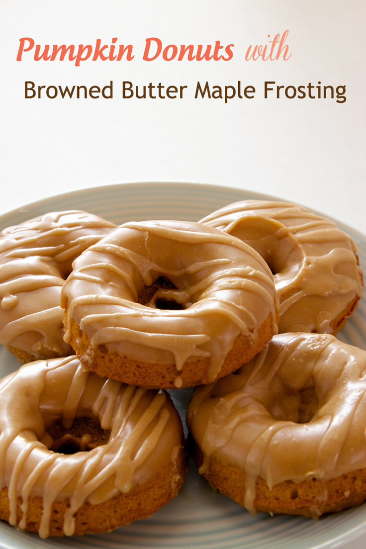 Claudia's Cookbook - Pumpkin Donuts with Browned Butter Maple Frosting Cover