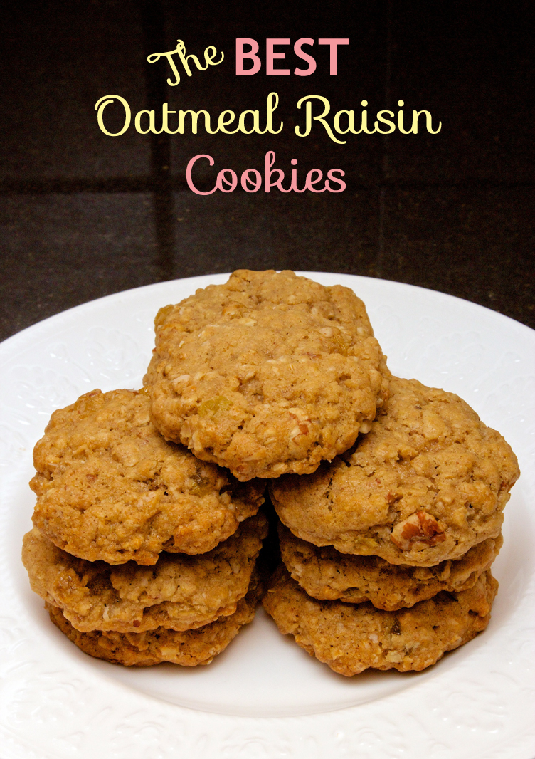 Claudia's Cookbook - The Best Oatmeal Raisin Cookies cover