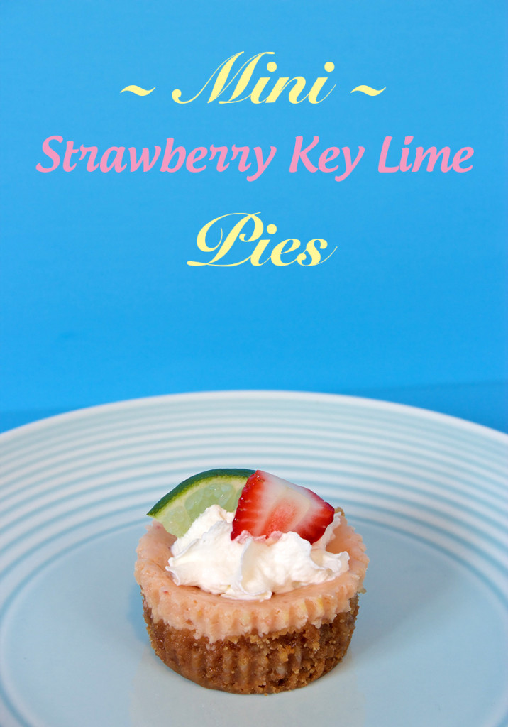 Claudia's Cookbook - Mini Strawberry Key Lime Pie cover