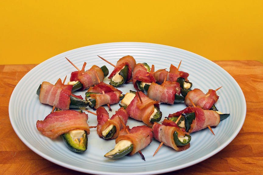 Claudia's Cookbook - Bacon Wrapped Jalapeno Poppers 6