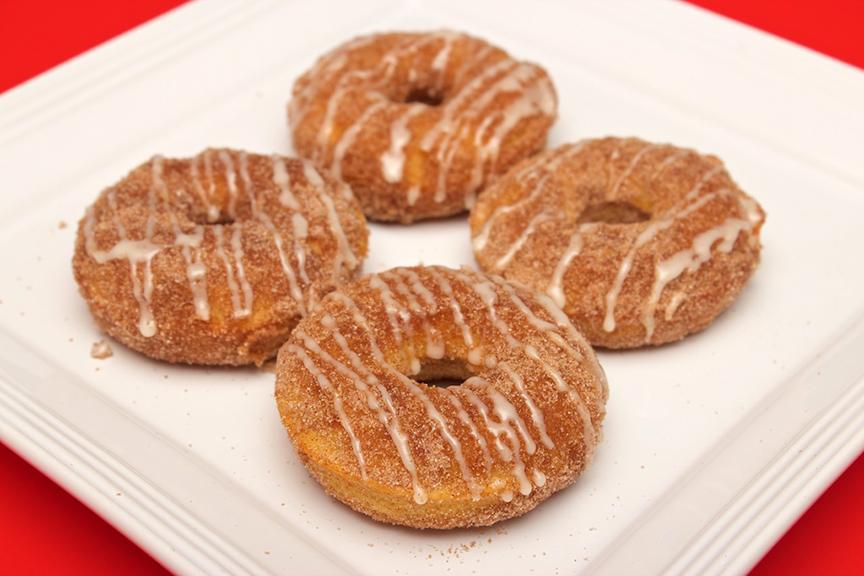 © Claudia's Cookbook - Browned Butter Eggnog Snickerdoodle Doughnuts 19