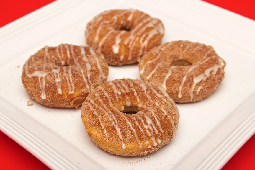 © Claudia's Cookbook - Browned Butter Eggnog Snickerdoodle Doughnuts 19
