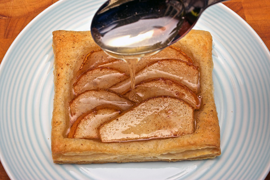 © Claudia's Cookbook - Honey Drenched Pear Tarts 9