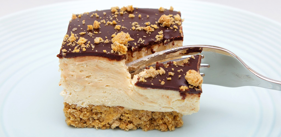 © Claudia's Cookbook - Peanut Butter Cup Squares-cover